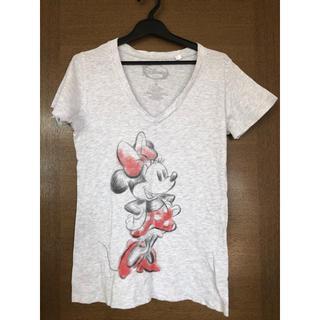 ディズニー(Disney)のDisney ミニーマウスTシャツ 大きめS(Tシャツ(半袖/袖なし))