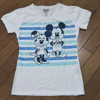 ディズニー(Disney)のミッキー ミニー Tシャツ(Tシャツ(半袖/袖なし))