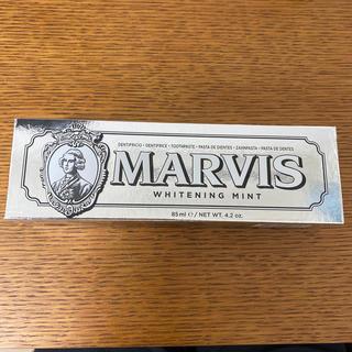 マービス(MARVIS)のマービス ホワイトミント トゥースペースト 85ml(歯磨き粉)