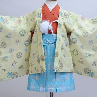 一つ身 羽織着物袴セット男児 ベビー用 childoll NO20861(和服/着物)