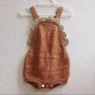 Caramel baby&child  - 【 新品タグ付き】misha&puff サロペット ロンパ  3-4Y
