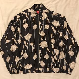 Supreme - Supreme Floral Silk Track Jacket シルク