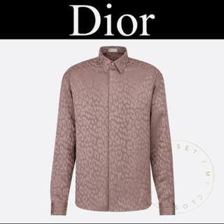 ディオールオム(DIOR HOMME)の求  DiorHOMME レオパードシャツ(シャツ)