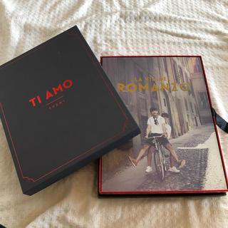 東方神起 フォトブック 「TI AMO TVXQ!」(BOOK+DVD+ポスター(アート/エンタメ)