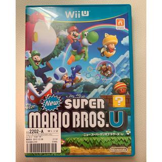 ウィーユー(Wii U)のwiiu  ニュースーパーマリオブラザーズU(家庭用ゲームソフト)