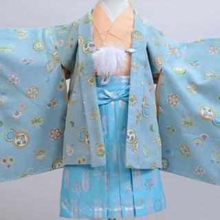 一つ身 羽織着物 袴セット 男児 ベビー用 childoll NO20863(和服/着物)