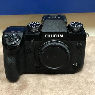 フジフイルム(富士フイルム)のX-H1 ボディ 美品 元箱 予備バッテリー付 フジフイルム fujifilm (ミラーレス一眼)