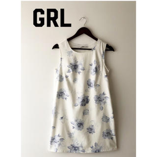 グレイル(GRL)のGRL  ♪花柄ワンピース(ひざ丈ワンピース)