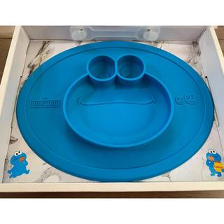ユニバーサルスタジオジャパン(USJ)のクッキーモンスター マット(離乳食器セット)