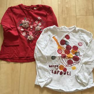 ザラキッズ(ZARA KIDS)のMANGO&ZARA☆キッズトップス(2枚組)(Tシャツ/カットソー)
