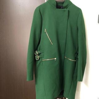 ZARA - ☆セール☆ ZARA ザラ 服 コート レディース グリーン sサイズ