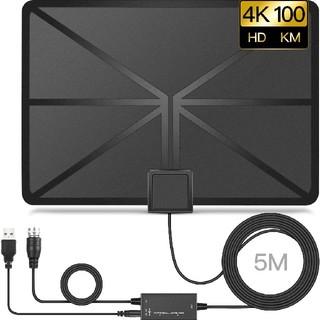 室内アンテナ HD 4K 地デジ ペーパーアンテナ(映像用ケーブル)