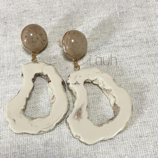 TODAYFUL - j272.marble fake agate stone pierce