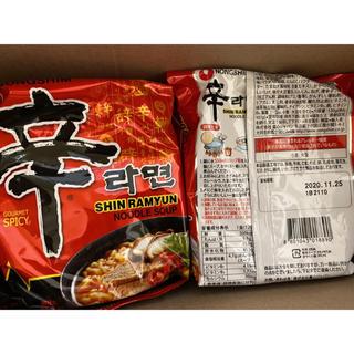辛ラーメン 13袋 賞味期限2020.11.25(インスタント食品)