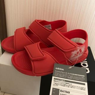 アディダス(adidas)のadidas キッズ サンダル 19cm 新品(サンダル)