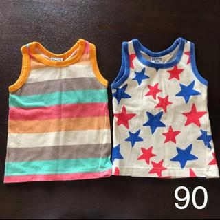 エフオーキッズ(F.O.KIDS)のタンクトップ Tシャツ 肌着 90(Tシャツ/カットソー)