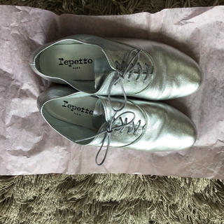 レペット(repetto)のrepetto レペット シルバー zizi ジジ(ローファー/革靴)