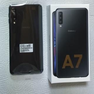 SAMSUNG - GalaxyA7 ブラック