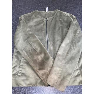 ZARA - グリーン ジャケット ブルゾン ザラ