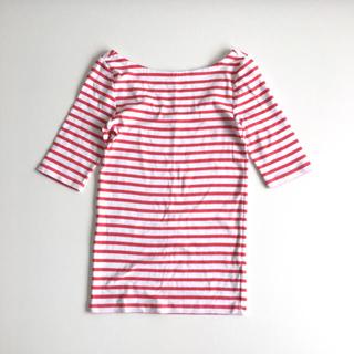 ギャップ(GAP)のGAP モダン バレエバック Tシャツ ボーダー xs(Tシャツ(半袖/袖なし))