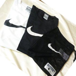 NIKE - 新品タグ付き◆(S)ナイキ 白&黒ドライフィットTシャツ2枚組