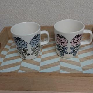 marimekko - marimekko マリメッコ ヴィヒキルース ペアマグカップ