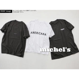 アメリカーナ(AMERICANA)のAMERICANA×MICA&DEAL ノベリティTシャツ(Tシャツ(半袖/袖なし))