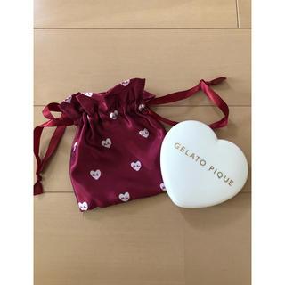 gelato pique - ☆°+未使用品 ジェラートピケ 印鑑ケース&巾着☆°+