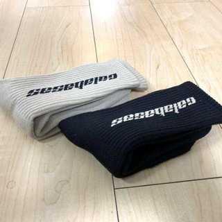 YEEZY 靴下 ソックス カラバサス 2色セット(ソックス)