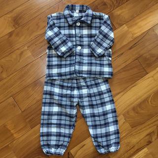 ムジルシリョウヒン(MUJI (無印良品))の子供用パジャマ80〜90cm(パジャマ)