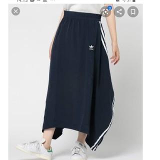 アディダス(adidas)のアディダスオリジナルス アシメロングスカート(ロングスカート)