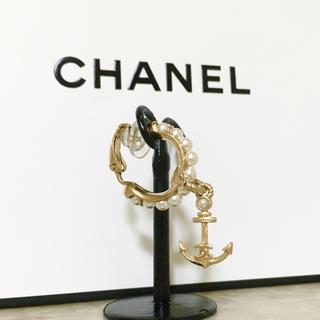 シャネル(CHANEL)の正規品 シャネル イヤリング 片方 ココマーク パール 真珠 ゴールド イカリ(イヤリング)