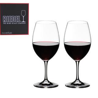 リーデル(RIEDEL)の新品・未使用 RIEDELL リーデル 赤ワイン グラス ペアセット オヴァチュ(グラス/カップ)