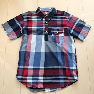 エンジニアードガーメンツ(Engineered Garments)の美品 エンジニアードガーメンツ ボタンダウンシャツ ビッグマドラスプレイド S(シャツ)