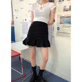 STYLENANDA - シャーリング スカート