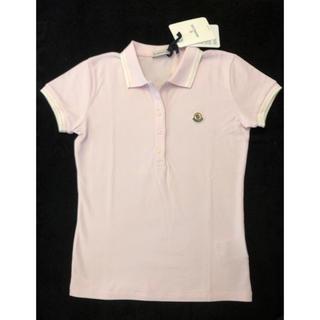 モンクレール(MONCLER)の新品☆モンクレール ポロシャツ薄ピンク(ポロシャツ)