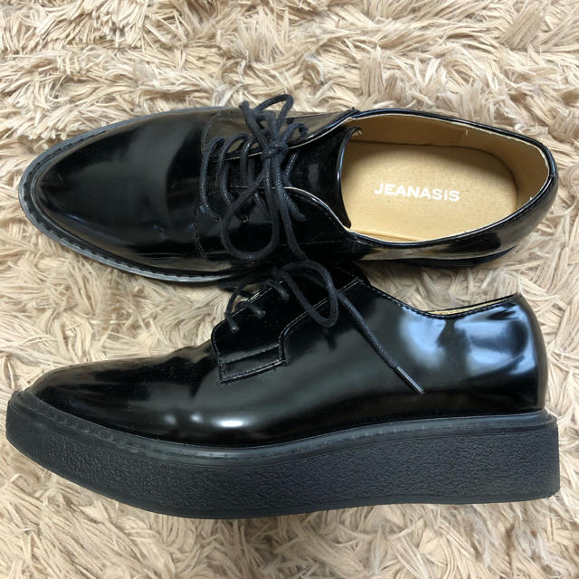 JEANASIS(ジーナシス)のJEANASIS★ポインテッド厚底ローファー レディースの靴/シューズ(ローファー/革靴)の商品写真