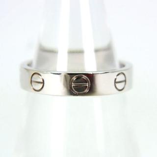 カルティエ(Cartier)のカルティエ 750WG ミニラブリング 7号(47) [g215-9](リング(指輪))