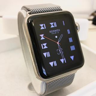 アップルウォッチ(Apple Watch)のApple Watch HERMES 42mm エルメス アップルウォッチ(腕時計(デジタル))