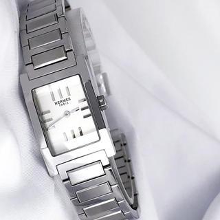 エルメス(Hermes)の【仕上済】エルメス タンデム シルバー ブレス レディース 腕時計(腕時計)