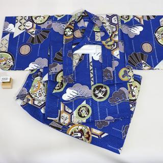 一つ身 二部式 羽織着物セット 男児 ベビー用 NO20591(和服/着物)