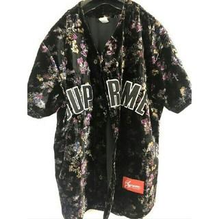 Supreme - supreme Floral Velour Baseball shorts