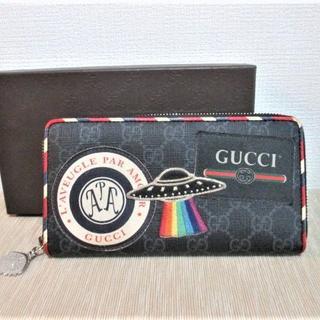 グッチ(Gucci)の☆GUCCI グッチ GGスプリーム レトロ ラウンドファスナー 長財布 財布(長財布)