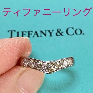 ティファニー(Tiffany & Co.)のPT ティファニー Vバンドリング(リング(指輪))