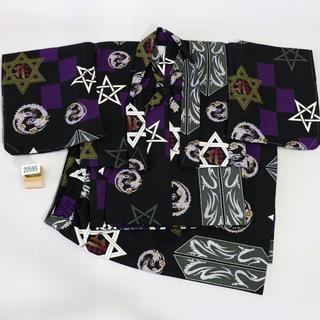 一つ身 二部式 羽織着物セット 男児 ベビー用 NO20595(和服/着物)