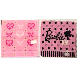 バービー(Barbie)のBarbieハンカチ2枚(ハンカチ)