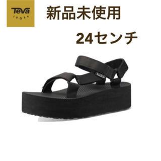 テバ(Teva)の新品 テバ 厚底サンダル 24センチ(サンダル)