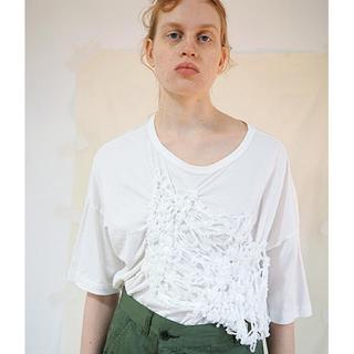 ズッカ(ZUCCa)のzucca テープシャーリングジャージ カットソー Tシャツ(カットソー(半袖/袖なし))