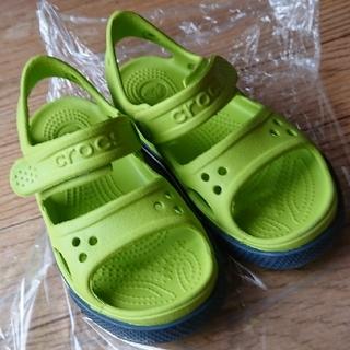 クロックス(crocs)のクロックス キッズ サンダル c11(サンダル)