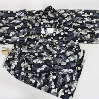 一つ身 二部式 羽織着物セット 男児 ベビー用 NO20596(和服/着物)